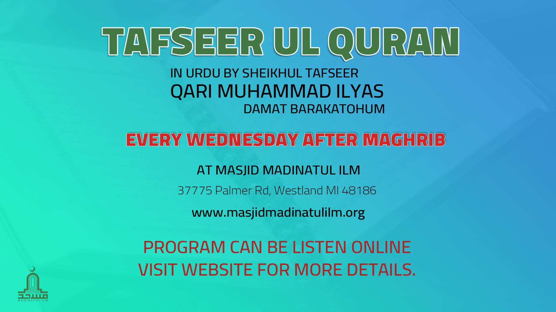 MMI Darse Quran Maghrib